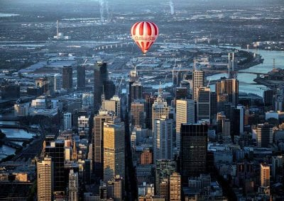 Melbourne City with BalloonMan