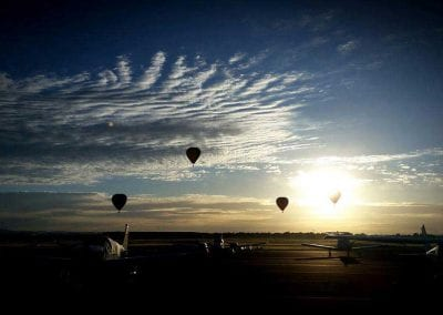 Balloons at Sunrise Melbourne