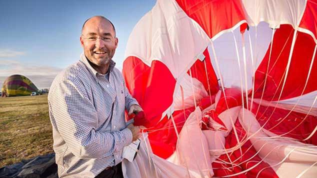BalloonMan Chief Pilot - Chris Shorten
