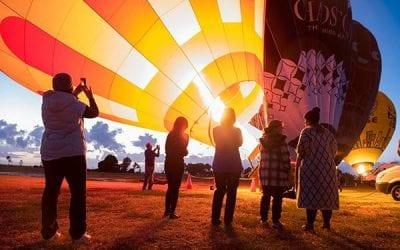 Balloon Flights at Sunrise